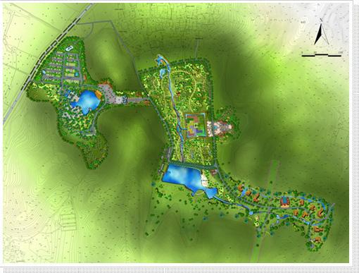 苏州木渎镇白象湾综合开发总体规划