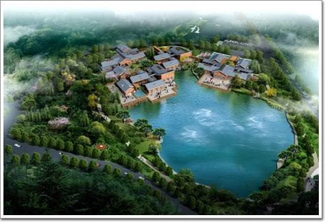 苏州木渎镇白象湾综合开发总体规划及建筑设计