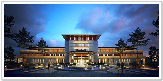 新疆阿勒泰富蕴县生态酒店概念方案设计